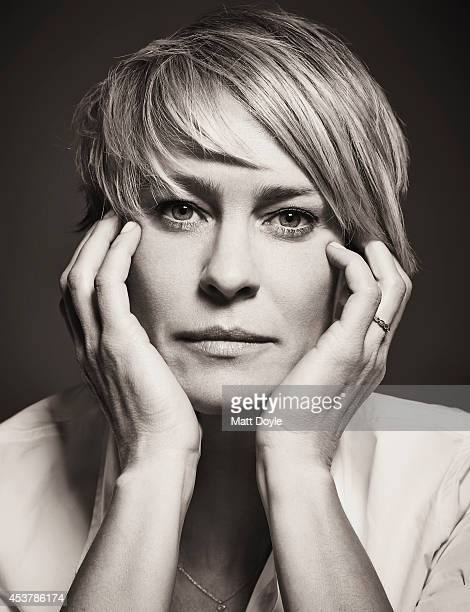 Actress Robin Wright is photographed for Back Stage Magazine on July 23 in New York City PUBLISHED COVER