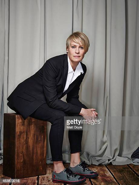 Actress Robin Wright is photographed for Back Stage Magazine on July 23 in New York City