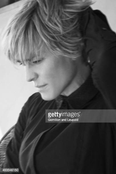 Actress Robin Wright is photographed for New York Moves on October 1 2011 in Los Angeles California