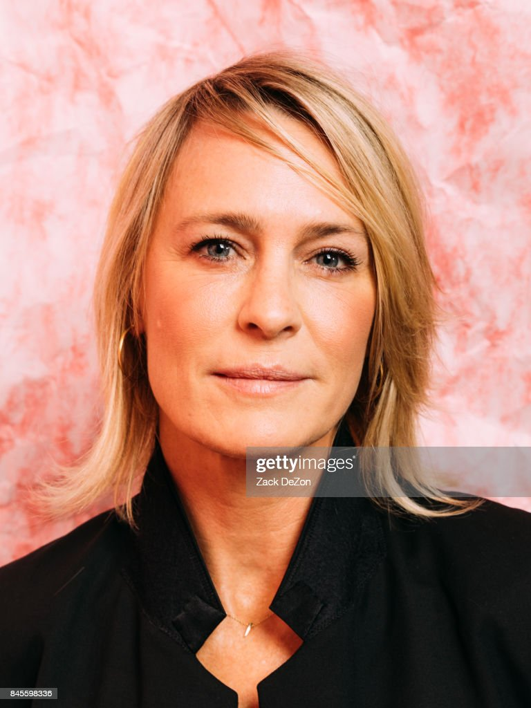 Actress Robin Wright poses for a portrait during the Daily Front Row's Fashion Media Awards at Four Seasons Hotel New York Downtown on September 8, 2017 in New York City.