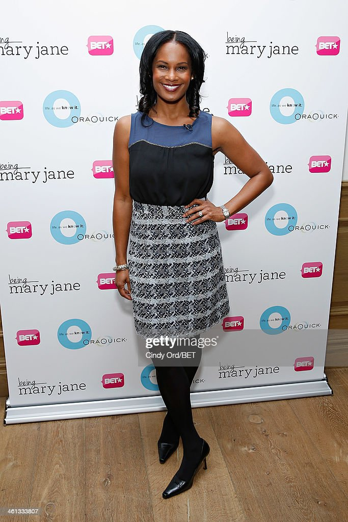Actress Robinne Lee attends as BET Networks partners with OraQuick for 'Life As We Know It', a special panel series about relationships and an advance screening of the program 'Being Mary Jane' at The Crosby Hotel on January 7, 2014 in New York City.