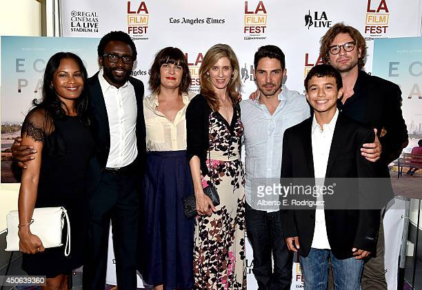 Actress Robinne Lee producer Anthony Okungbowa director Amanda Marsalis actress Helen Slater actor Maurice Compte actor Ricky Rico and actor Gale...