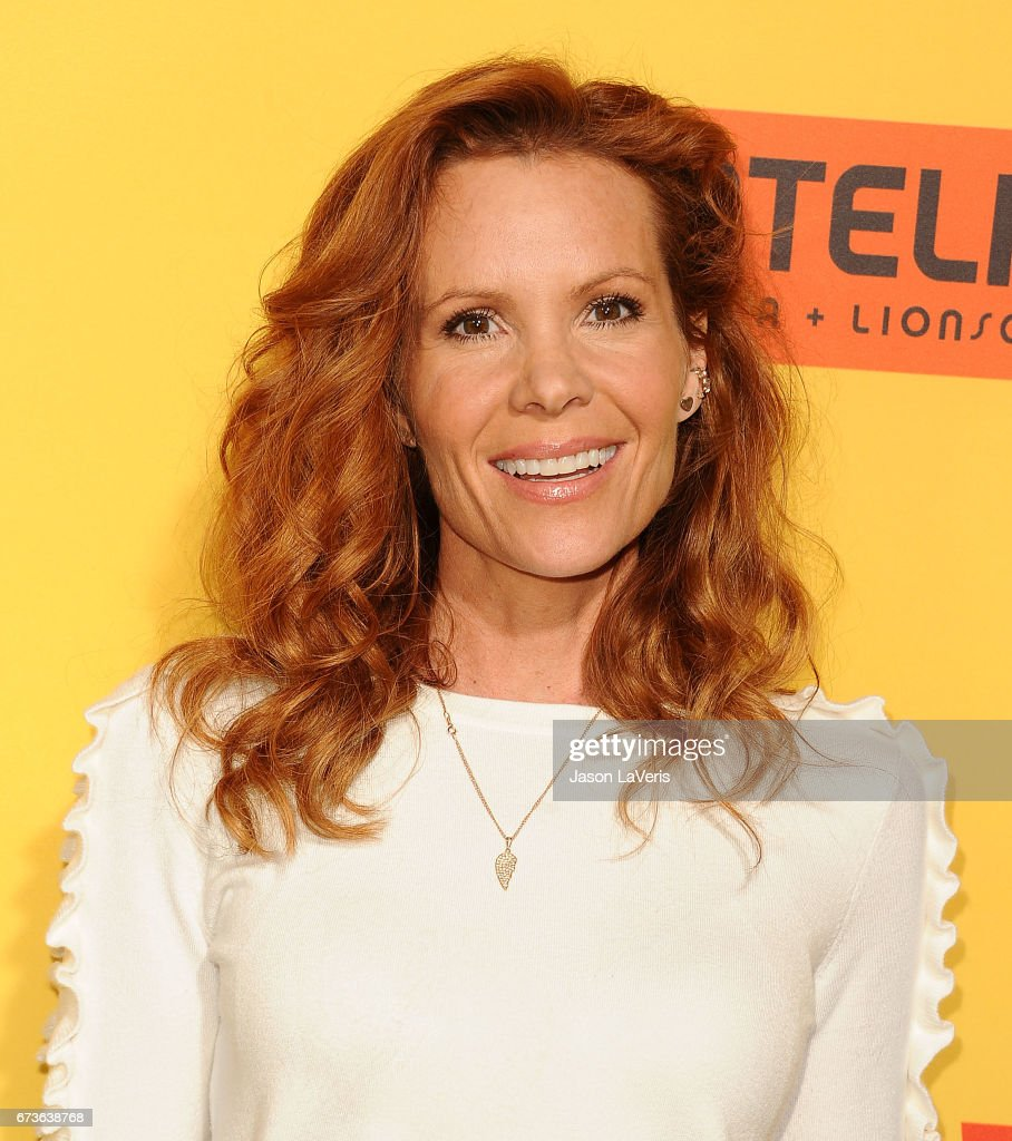 Actress Robyn Lively Attends The Premiere Of 'how To Be A Latin Lover' At