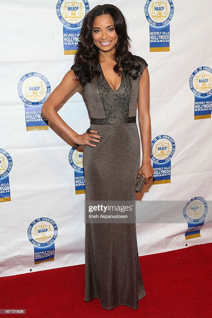 Actress Rochelle Aytes attends the 23rd Annual NAACP Theatre Awards at Saban Theatre on November 11, 2013 in Beverly Hills, California.