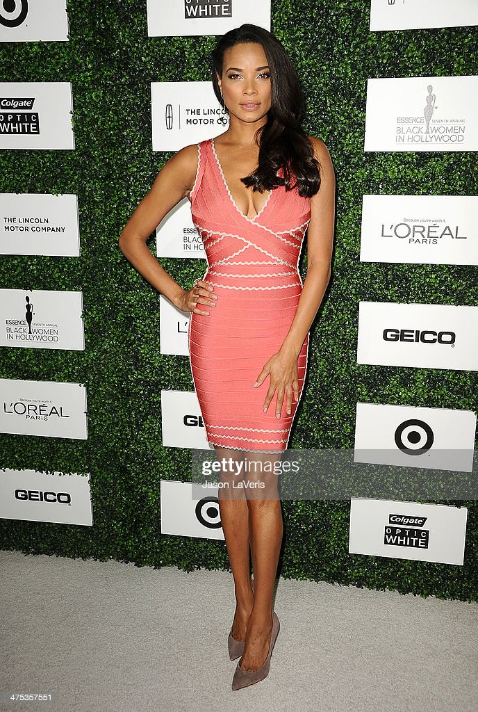 Actress Rochelle Aytes attends the 7th annual ESSENCE Black Women In Hollywood luncheon at Beverly Hills Hotel on February 27 2014 in Beverly Hills...
