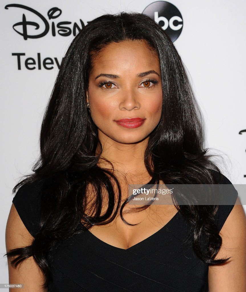Actress <a gi-track='captionPersonalityLinkClicked' href=/galleries/search?phrase=Rochelle+Aytes&family=editorial&specificpeople=843599 ng-click='$event.stopPropagation()'>Rochelle Aytes</a> attends the Disney ABC Television Group 2013 TCA Winter Press Tour at The Langham Huntington Hotel and Spa on January 10, 2013 in Pasadena, California.