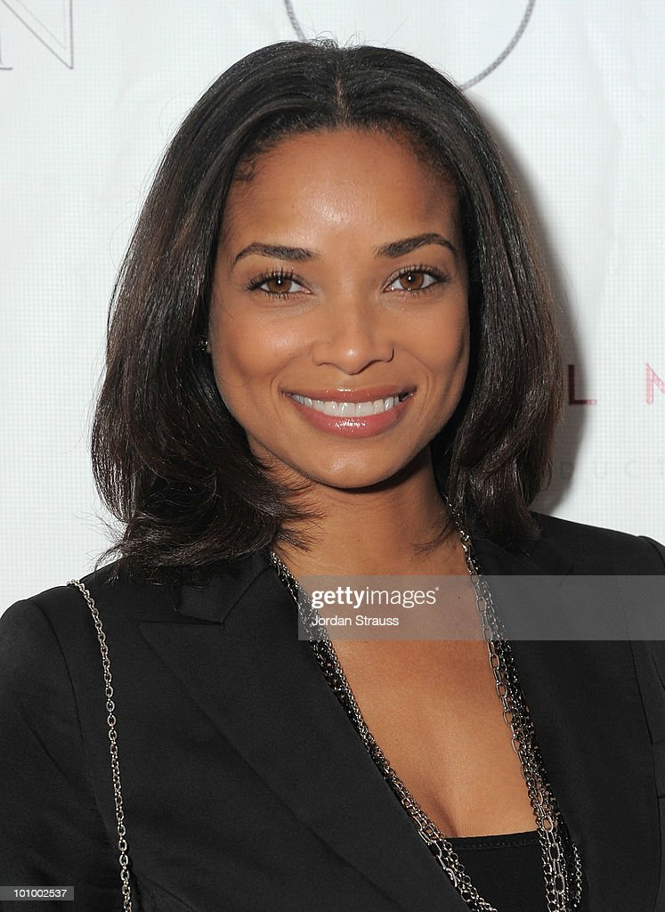 Actress Rochelle Aytes attends 'The Penitent Man' Premiere After Party at W Hollywood on May 26 2010 in Hollywood California