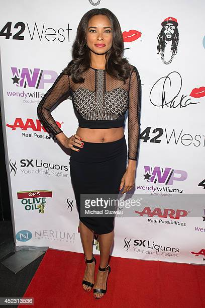 Actress Rochelle Aytes attends Wendy Williams' 50th Birthday Party at 42West on July 17 2014 in New York City