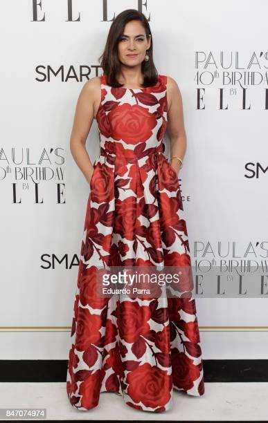 Actress Rocio Munoz attends the 40th birthday of Paula Echevarria at El Chaparral state restaurant on September 14 2017 in Pozuelo de Alarcon Spain