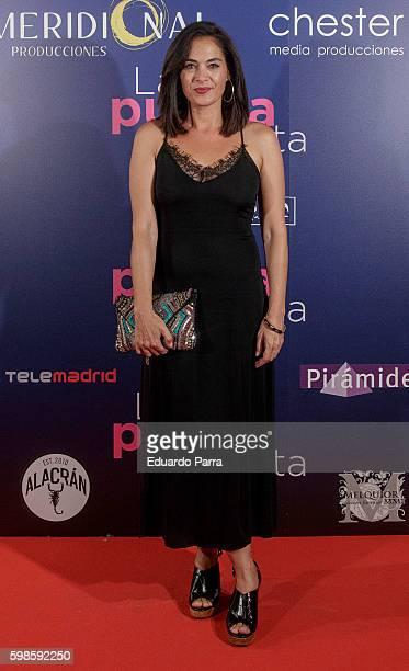Actress Rocio Munoz attends the 'La puerta abierta' premiere at Palacio de la prensa cinema on September 1 2016 in Madrid Spain