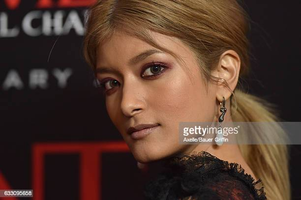 Actress Rola arrives at the premiere of Sony Pictures Releasing's 'Resident Evil The Final Chapter' at Regal LA Live A Barco Innovation Center on...