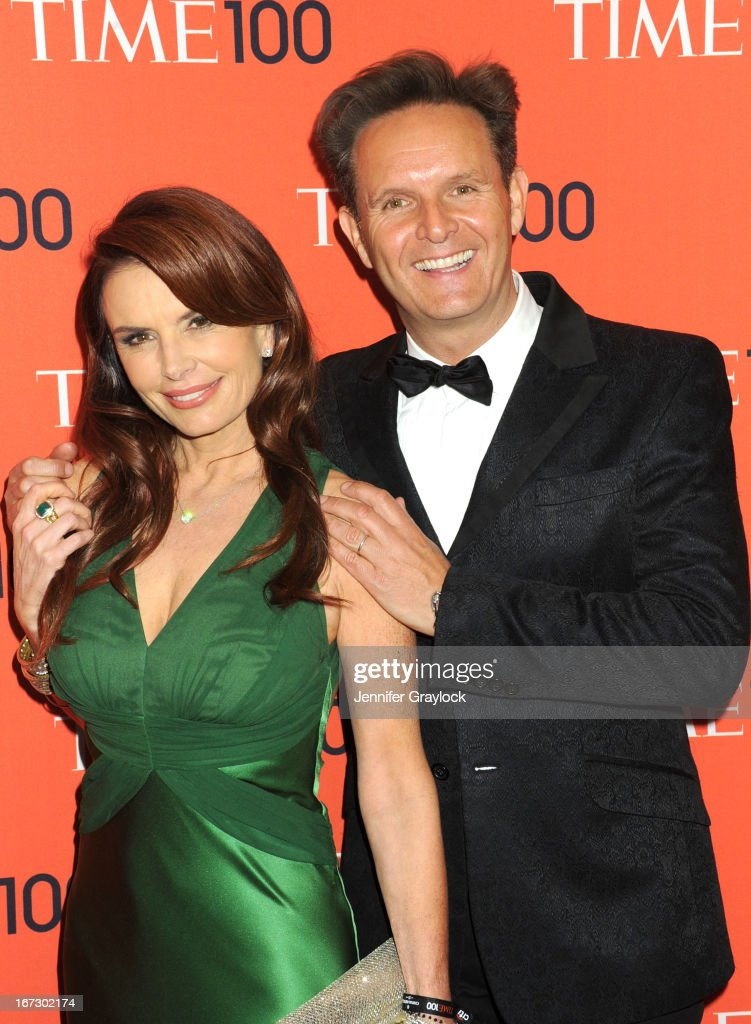 Actress Roma Downey and TV Producer Mark Burnett attends the 2013 Time 100 Gala at Frederick P. Rose Hall, Jazz at Lincoln Center on April 23, 2013 in New York City.
