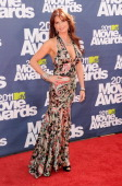 Actress Roma Downey arrives at the 2011 MTV Movie Awards at Universal Studios' Gibson Amphitheatre on June 5 2011 in Universal City California