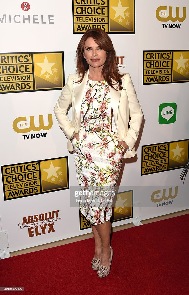 Actress <a gi-track='captionPersonalityLinkClicked' href=/galleries/search?phrase=Roma+Downey&family=editorial&specificpeople=214162 ng-click='$event.stopPropagation()'>Roma Downey</a> attends the 4th Annual Critics' Choice Television Awards at The Beverly Hilton Hotel on June 19, 2014 in Beverly Hills, California.