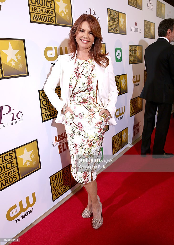 Actress Roma Downey attends the 4th Annual Critics' Choice Television Awards at The Beverly Hilton Hotel on June 19 2014 in Beverly Hills California