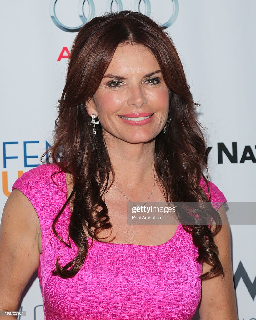 Actress Roma Downey attends the Geffen annual fundraiser at the Geffen Playhouse on May 13, 2013 in Los Angeles, California.