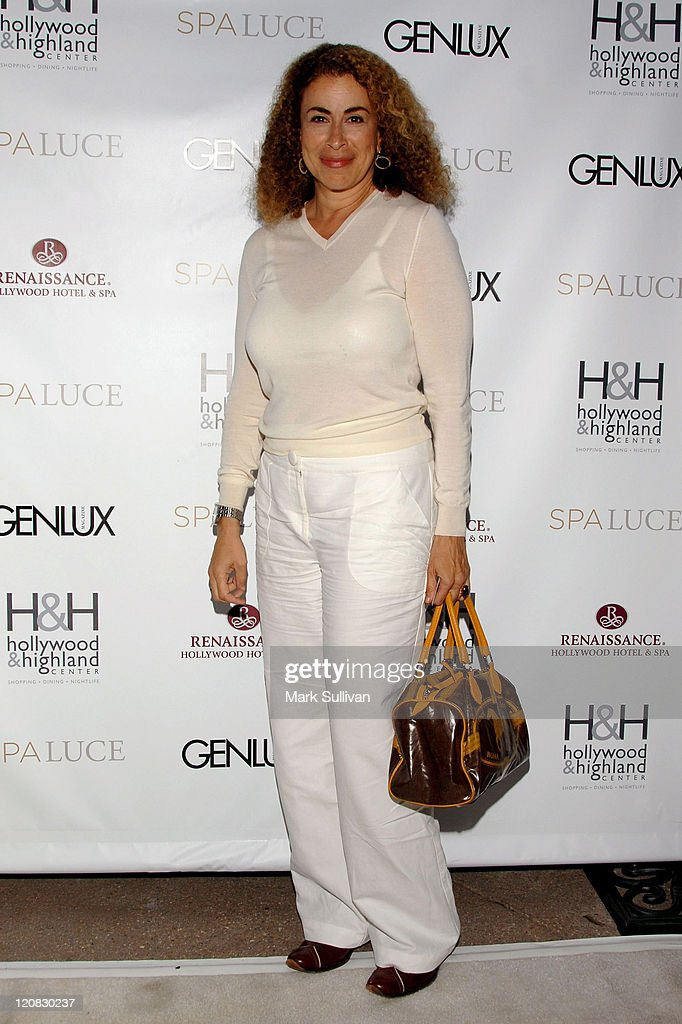 Actress Roma Maffia attends the unveiling of Spa Luce at Hollywood & Highland on May 1, 2008 in Hollywood, California.