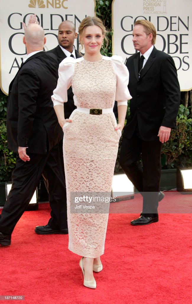 Actress Romola Garai arrives at the 69th Annual Golden Globe Awards held at the Beverly Hilton Hotel on January 15, 2012 in Beverly Hills, California.