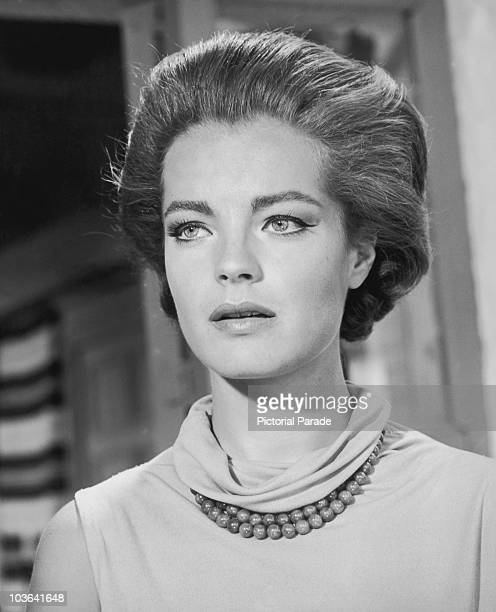Actress Romy Schneider pictured in a scene from the film '1030 PM Summer' USA circa 1966