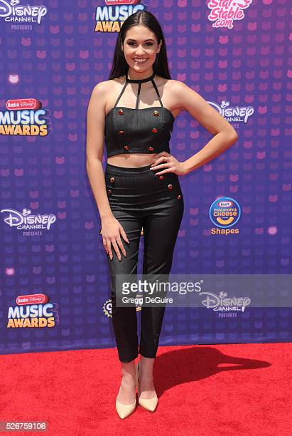 Actress Ronni Hawk arrives at the 2016 Radio Disney Music Awards at Microsoft Theater on April 30 2016 in Los Angeles California