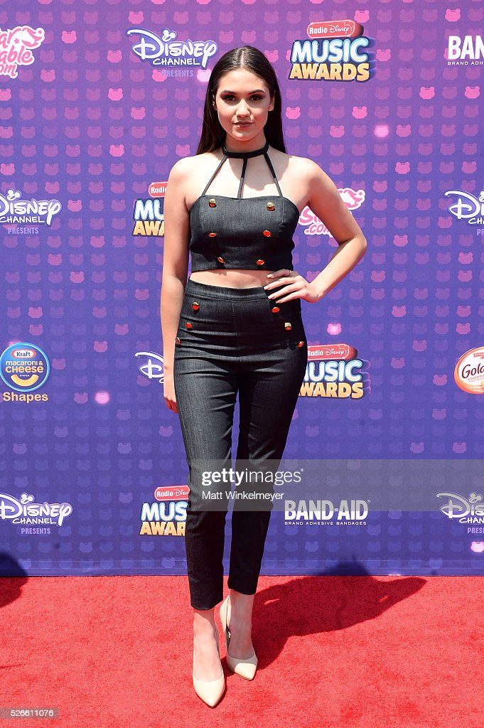 Actress Ronni Hawk attends the 2016 Radio Disney Music Awards at Microsoft Theater on April 30, 2016 in Los Angeles, California.