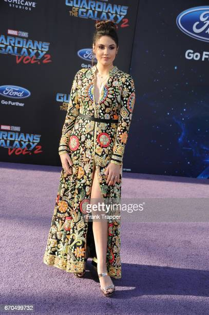 Actress Ronni Hawk attends the premiere of Disney and Marvel's 'Guardians Of The Galaxy Vol 2' at the Dolby Theatre on April 19 2017 in Hollywood...