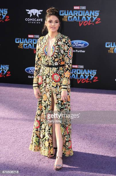 Actress Ronni Hawk attends world premiere of Disney and Marvel's' 'Guardians Of The Galaxy 2' at Dolby Theatre on April 19 2017 in Hollywood...