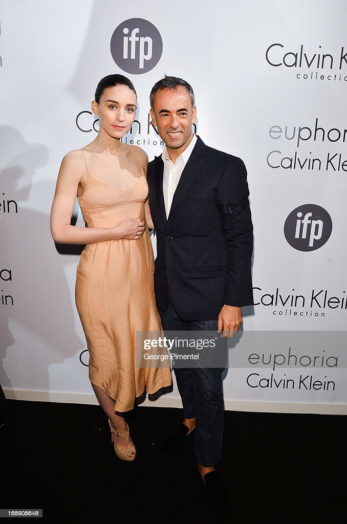 Actress Rooney Mara and Francisco Costa, Women's Creative Director of Calvin Klein Collection, attends a party hosted by Calvin Klein and IFP to celebrate women in film at The 66th Annual Cannes Film Festival>> at L'Ecrin Plage on May 16, 2013 in Cannes, France.