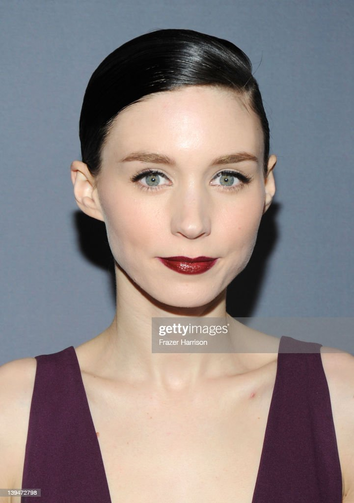 Actress Rooney Mara arrives at the 14th Annual Costume Designers Guild Awards With Presenting Sponsor Lacoste held at The Beverly Hilton hotel on February 21, 2012 in Beverly Hills, California.