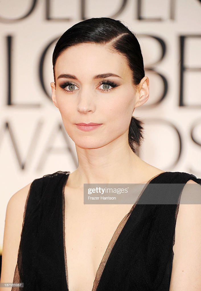 Actress Rooney Mara arrives at the 69th Annual Golden Globe Awards held at the Beverly Hilton Hotel on January 15 2012 in Beverly Hills California