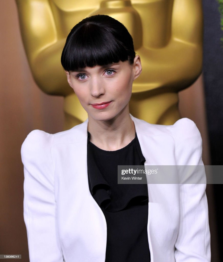 Actress Rooney Mara arrives at the 84th Academy Awards Nominations Luncheon at The Beverly Hilton hotel on February 6 2012 in Beverly Hills California