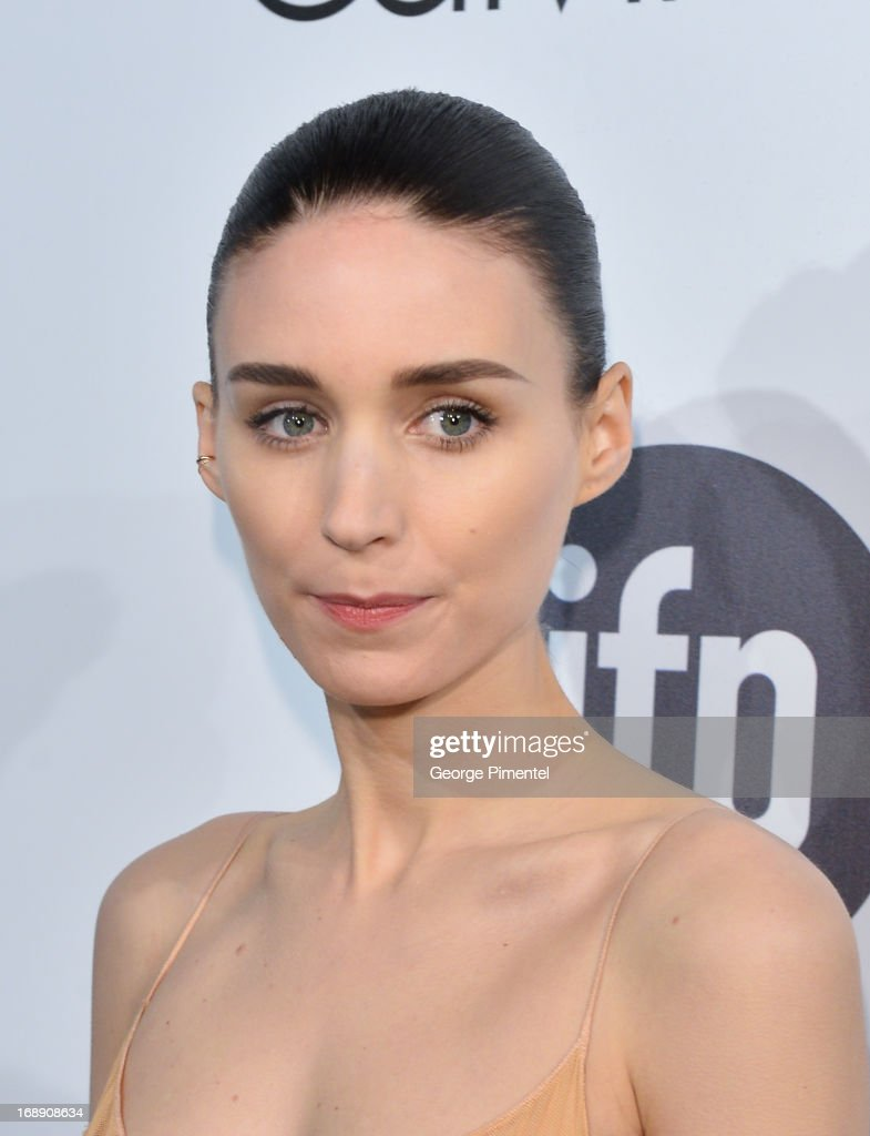 Actress Rooney Mara attends a party hosted by Calvin Klein and IFP to celebrate women in film at The 66th Annual Cannes Film Festival at L'Ecrin Plage on May 16, 2013 in Cannes, France.