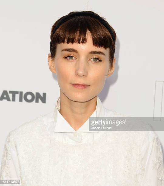 Actress Rooney Mara attends Humane Society of The United States' annual To The Rescue Los Angeles benefit at Paramount Studios on April 22 2017 in...