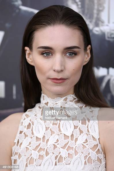 Actress Rooney Mara attends 'Pan' premiere at Ziegfeld Theater on October 4 2015 in New York City