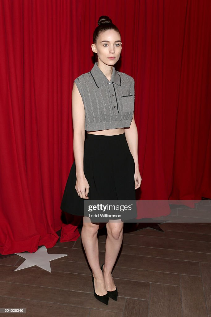 Actress Rooney Mara attends the 16th Annual AFI Awards at Four Seasons Hotel Los Angeles at Beverly Hills on January 8, 2016 in Beverly Hills, California.