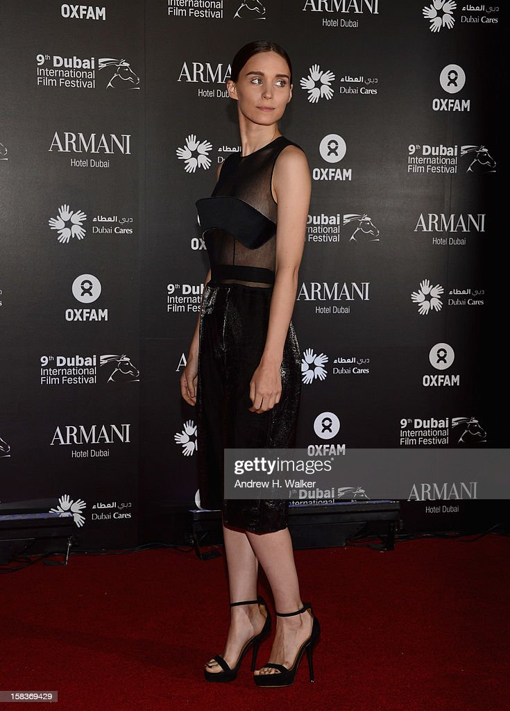 Actress Rooney Mara attends the 2012 Dubai International Film Festival, Dubai Cares and Oxfam 'One Night to Change Lives' Charity Gala at the Armani Hotel on December 14, 2012 in Dubai, United Arab Emirates.