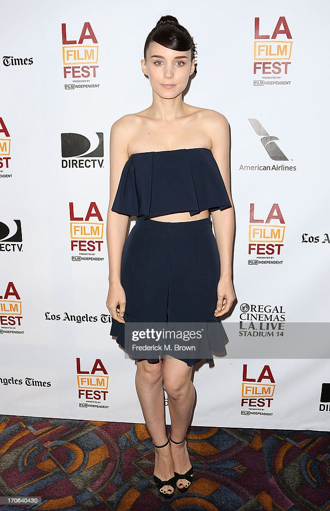 Actress <a gi-track='captionPersonalityLinkClicked' href=/galleries/search?phrase=Rooney+Mara&family=editorial&specificpeople=5669181 ng-click='$event.stopPropagation()'>Rooney Mara</a> attends the 2013 Los Angeles Film Festival screening of IFC Films' 'Ain't Them Bodies Saints' at the Regal Cinemas L.A. Live on June 15, 2013 in Los Angeles, California.