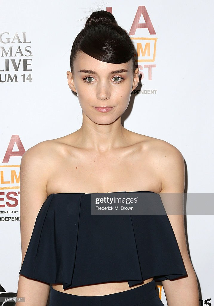 Actress Rooney Mara attends the 2013 Los Angeles Film Festival screening of IFC Films' 'Ain't Them Bodies Saints' at the Regal Cinemas L.A. Live on June 15, 2013 in Los Angeles, California.