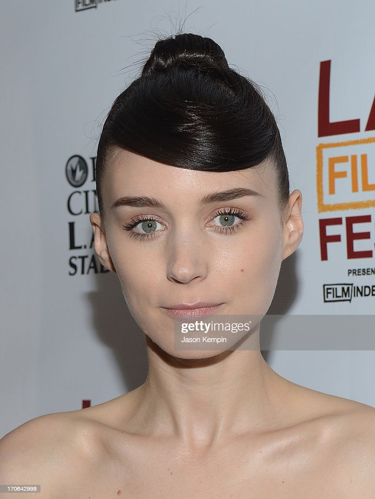 Actress Rooney Mara attends the 2013 Los Angeles Film Festival Screening Of IFC Films' 'Ain't Them Bodies Saints' at Regal Cinemas L.A. Live on June 15, 2013 in Los Angeles, California.