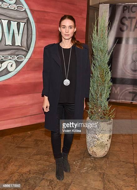 Actress Rooney Mara attends the 2015 Telluride Film Festival on September 4 2015 in Telluride Colorado