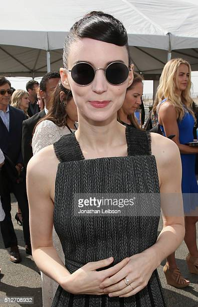Actress Rooney Mara attends the 2016 Film Independent Spirit Awards sponsored by Heineken on February 27 2016 in Santa Monica California