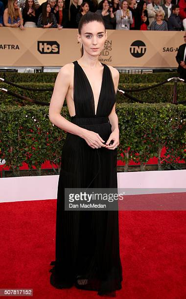 Actress Rooney Mara attends the 22nd Annual Screen Actors Guild Awards at The Shrine Auditorium on January 30 2016 in Los Angeles California