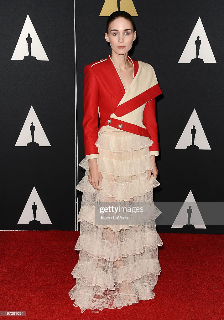 Actress Rooney Mara attends the Academy of Motion Picture Arts and Sciences' 7th annual Governors Awards at The Ray Dolby Ballroom at Hollywood & Highland Center on November 14, 2015 in Hollywood, California.