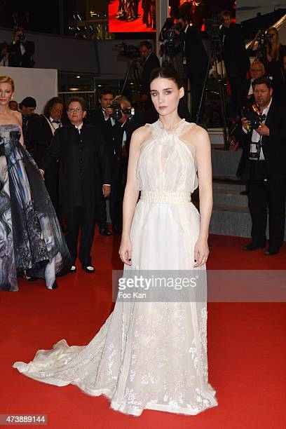 Actress Rooney Mara attends the 'Carol' Premiere during the 68th annual Cannes Film Festival on May 17 2015 in Cannes France