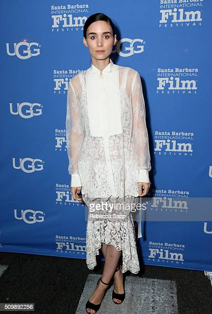 Actress Rooney Mara attends the Cinema Vanguard Award at the Arlington Theater during the 31st Santa Barbara International Film Festival on February...