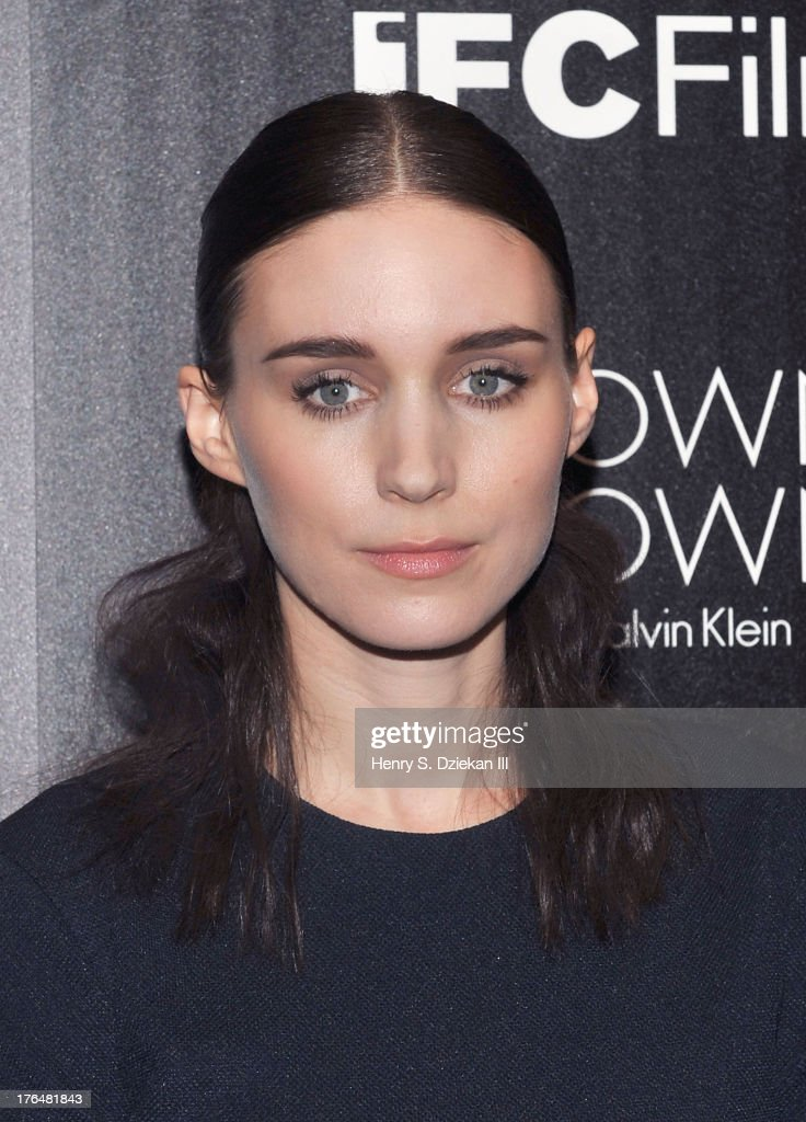 Actress <a gi-track='captionPersonalityLinkClicked' href=/galleries/search?phrase=Rooney+Mara&family=editorial&specificpeople=5669181 ng-click='$event.stopPropagation()'>Rooney Mara</a> attends the Downtown Calvin Klein with The Cinema Society screening of IFC Films' 'Ain't Them Bodies Saints' at Museum of Modern Art on August 13, 2013 in New York City.