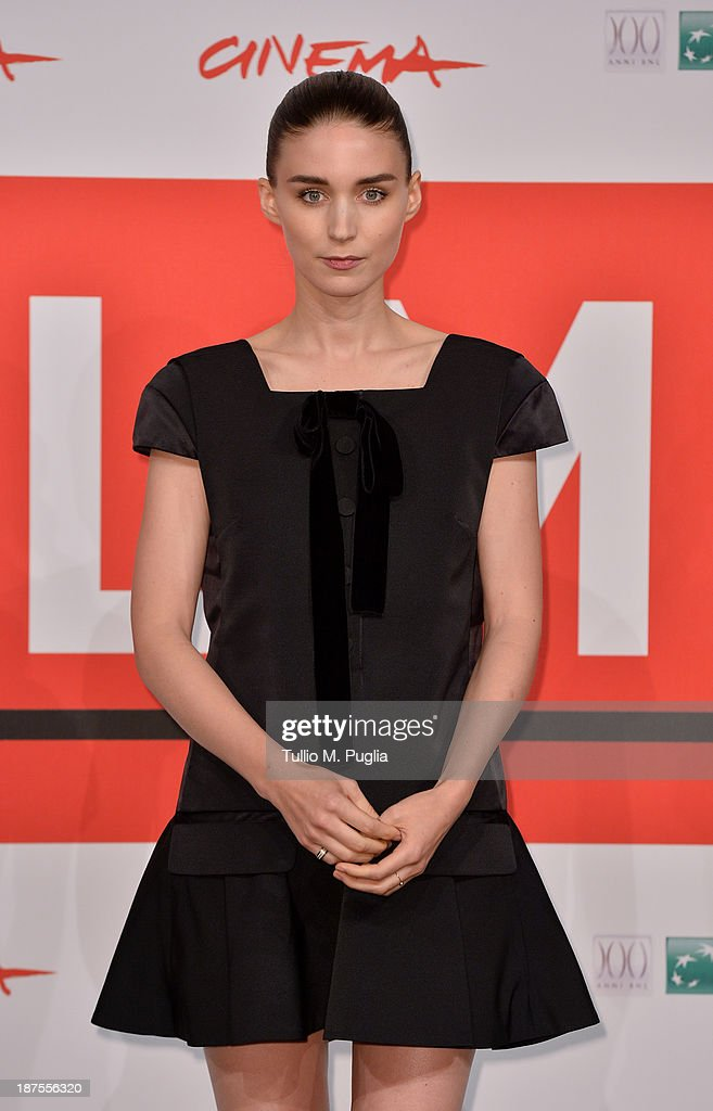 Actress Rooney Mara attends the 'Her' Photocall during the 8th Rome Film Festival at the Auditorium Parco Della Musica on November 10, 2013 in Rome, Italy.
