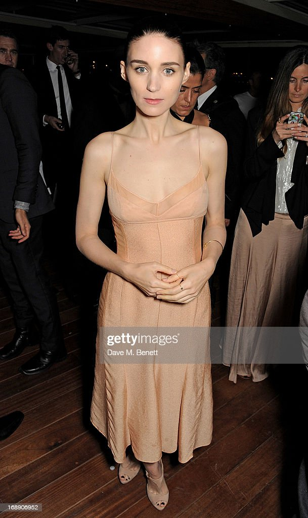 Actress Rooney Mara attends the IFP, Calvin Klein Collection & Euphoria Calvin Klein celebration of Women In Film At The 66th Cannes Film Festival on May 16, 2013 in Cannes, France.