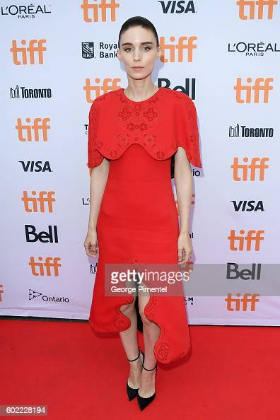 Actress Rooney Mara attends the 'Lion' premiere during the 2016 Toronto International Film Festival at Princess of Wales Theatre on September 10 2016...