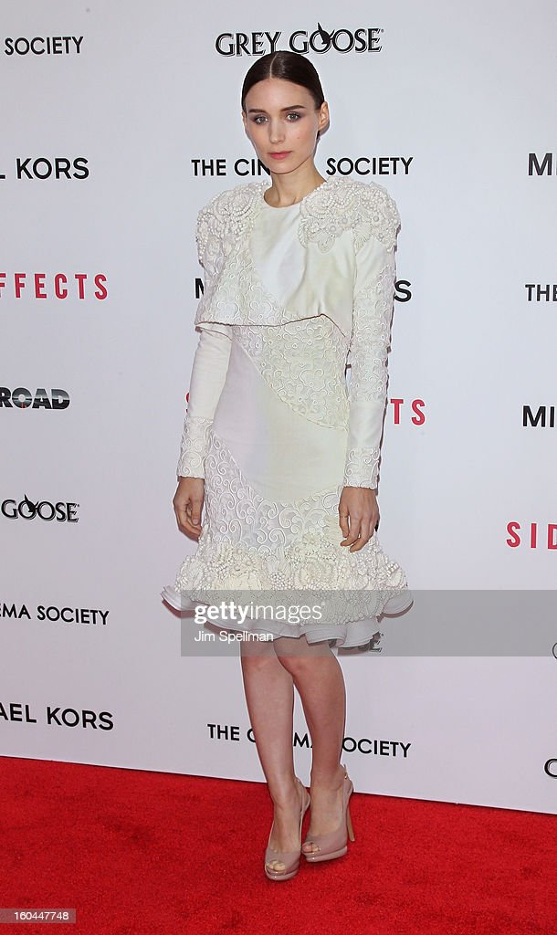 Actress Rooney Mara attends the Open Road With The Cinema Society And Michael Kors Host The Premiere Of 'Side Effects' at AMC Lincoln Square Theater on January 31, 2013 in New York City.